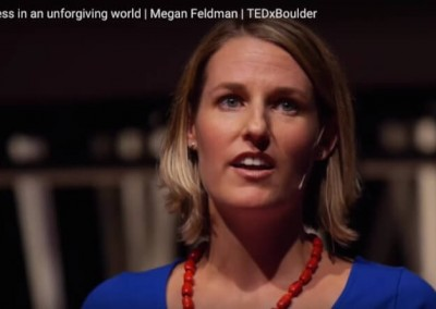 """TedX: Landmark forum graduate geeft lezing: """"Vergeven in een wereld die geen vergiffenis kent"""""""